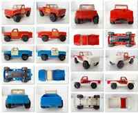 Lot 3 Vintage  TONKA Mini Pick Up Toy Truck - Made in USA 1978