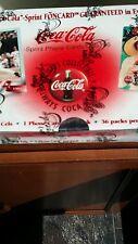 Coca cola phone card box