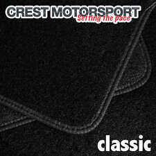 VW GOLF Mk2 CLASSIC Tailored Black Car Floor Mats