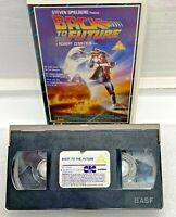 BACK TO THE FUTURE CIC UK PAL VHS VIDEO 1989 Spielberg Zemeckis PG