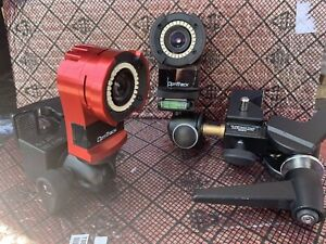 Lot of 2 OptiTrack Flex 13 FL13 Motion Capture Cameras W/ Manfrotto Super Clamps
