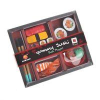 Japanese Sushi Dinner Bento Box Pretend Play Cutting Food Set 21 Pcs