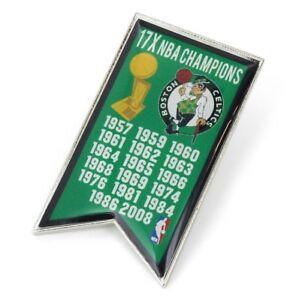 BOSTON CELTICS - CHAMPIONS - LAPEL/HAT PIN - BRAND NEW - NBA-PN-1064-01
