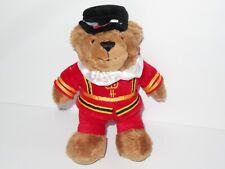 "Harrods Royal Guard Guardsman Teddy Bear Beefeater Plush 7"" Toy London England"