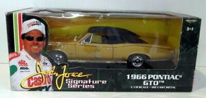 Ertl 1/18 Scale Diecast - 32893 1966 Pontiac GTO Gold John Force Series