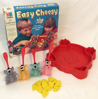 Easy Cheesy Board Game 1993 MB Milton Bradley Vintage