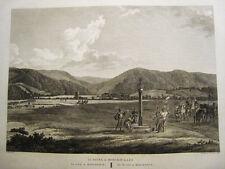 Roncesvalles.Laborde.Grabado original. Paris 1806-20