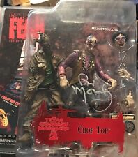 Bill Moseley Signed Cinema Of Fear Chop Top Texas Chainsaw Massacre Mexco