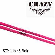 CRAZY GOLF JAPAN STP IRON PINK IRON SHAFT CARBON SHAFT 2020c Model