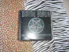 CD Metal Dimmu Borgir Death Cult Armag. NUCL BL Promo