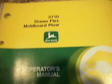 John Deere Operator'S Manual 3710 Drawn Flex Molboard Plow Issue L8