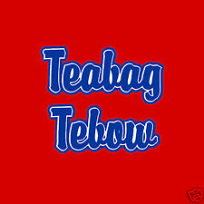MISSISSIPPI TEABAG TEBOW RIVALRY TSHIRT OLE MISS REBS