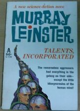 TALENTS, INCORPORATED by MURRAY LEINSTER P/B (AVON BOOKS 1962)