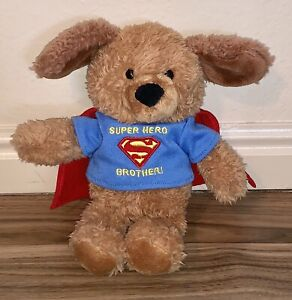 "Gund ~ DC Comics ~ Super Hero Brother Plush Dog ~ 10"""