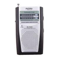 Suszian Mini Radio BC-R21 Universal Portable AM ??// FM Mini Radio St/ér/éo Haut-parleurs R/écepteur Lecteur de Musique Petite Taille Compacte