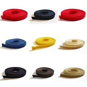 8mm Flat Cotton Cord, Perfect For Drawstrings Hoodies ETC. 16 COLOUR OPTIONS!