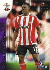 2015 Topps Premier Gold Victor Wanyama (Southampton) Purple 34/50