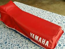 Yamaha XT350 XT 350 1984-2000 Seat Cover RED with STRAP (Y1)