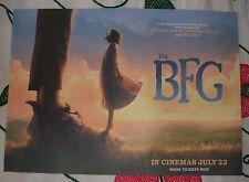 THE BFG POSTER Movie Cinema Film *NEW A3 Unfolded ROALD DAHL Matilda ET Disney 2