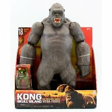 "King Kong Skull Island 46cm 18"" Kong Mega Monster Toy Action Play Set + Figure"
