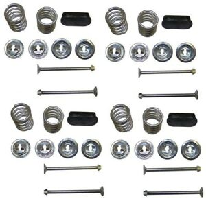 Four Brake Hold Down Kits for Ford 1955 1956 1957 1958 1959-buy for the future!