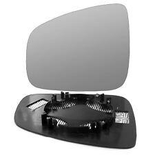 plate Left Passenger side Flat Wing mirror glass for Dacia Logan MCV 2013-2018