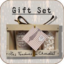 """""""pour papa/Father's Day"""" fondue au chocolat + mini Guimauve Ensemble Cadeau-Design 7"""