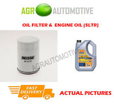 PETROL OIL FILTER + LL 5W30 ENGINE OIL FOR MAZDA TRIBUTE 2.3 150 BHP 2003-07
