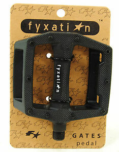 Fyxation Gates Bicycle Pedals, Black