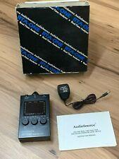 Vintage Audiosource Rta One Handheld Audio Spectrum Analyzer Withspl Meter Used