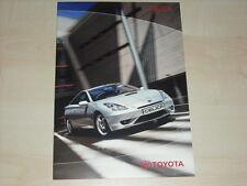 62652) Toyota Celica Prospekt 10/2002