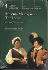 Museum Masterpieces: The Louvre , DVD/Book Bundle-New Sealed