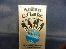Rendevous with RAMA Arthur C. Clarke home library collectible read novel vintage