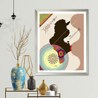 Tunisia Map Art Print Tunis North Africa Travel Poster Abstract Poster Abstract