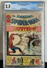 Amazing Spiderman 13 CGC 2.5 1st Appearance of Mysterio