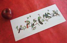 Vintage Mahjong Birds on a Branch Print, Mah Jongg Gifts