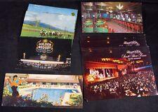 """Lot 14 duplicate Las Vegas Tahoe Nv Gambling """"Vintage Postcards"""" Racetrack Ca."""