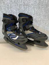 Worn Once K2 Merlin Youth Kids 13j Ice Skates Size Adjustable Extendable 51213j