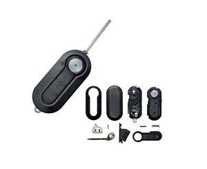AMAKEY Gehäuse Autoschlüssel Klappschlüssel Schlüssel für FIAT   3 Tasten
