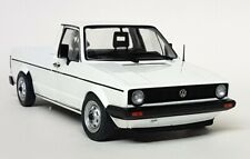 Solido 1/18 Scale - Volkswagen Caddy MK1 White 1982 Diecast model car
