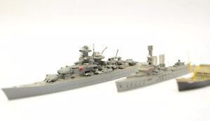 WIKING GERMANY VINTAGE METAL WATERLINE GERMAN SHIPS SS LINIENSCHIFF CHAHNHORST