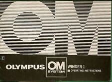 Vintage Camera Manuals and Guides for Olympus