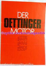 A163: Oettinger, Motor für den Käfer - Automobilia, Brochure, Klapp-Prospekt DEU
