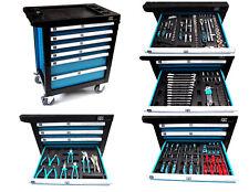 Werkzeugwagen Werkstattwagen Rollwagen - Komplett mit Werkzeug ! - 220 Teile -
