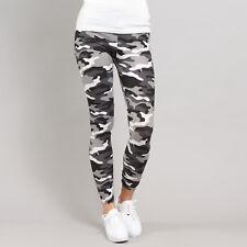 Urban Classics Ladies Camo Leggings camo weiß / schwarz / grau XS