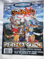 GRANDIA Xtreme Lösungsbuch Strategy PERFECT Guide VERSUS Videospiel Playstation