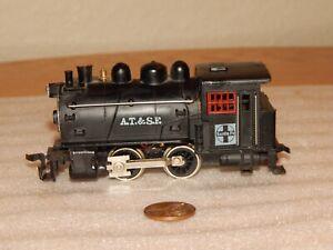 Life-Like HO Scale Santa Fe AT&SF Tank Style 0-4-0 Switcher ~ Steam Locomotive