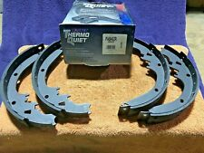 Wagner PAB462R ThermoQuiet Rear Drum Brake Shoe Set of 4 RIVETED