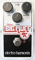 Used Electro-Harmonix EHX Nano Big Muff Pi Distortion Fuzz Overdrive Pedal