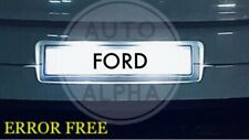 FORD MONDEO LED XENON WHITE NUMBER PLATE LIGHT BULBS ERROR FREE 93-07